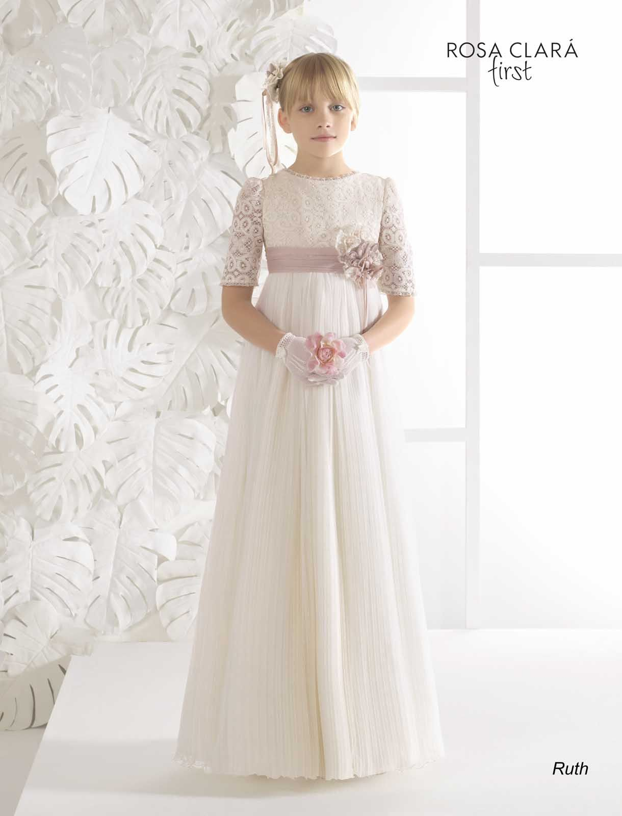 Vestidos de novia rosa clara madrid