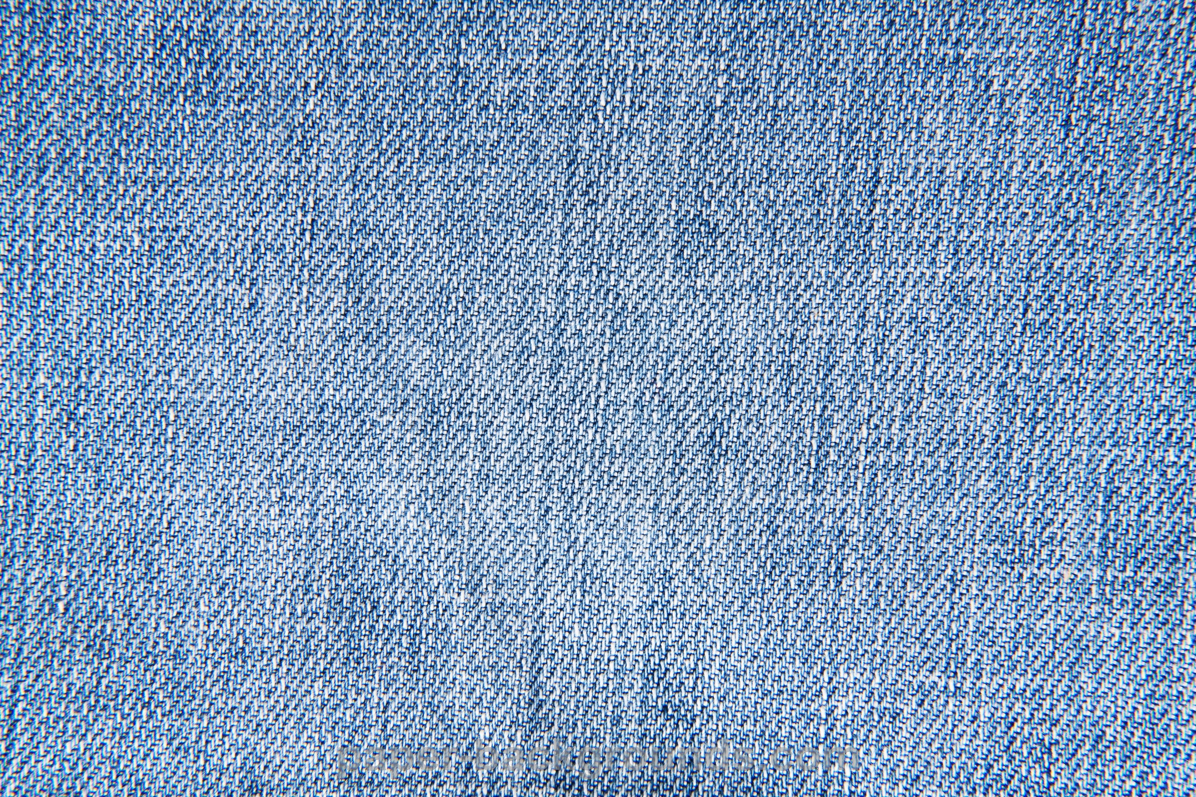 Blue Jeans Fabric Texture Background 4096x2731