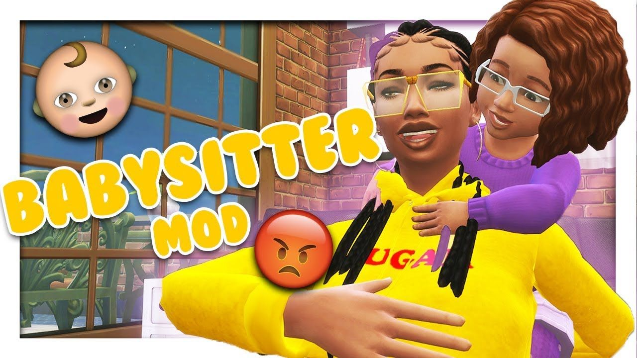 BABYSITTER MOD 👶 // The Sims 4 Mods - YouTube | C  Sims