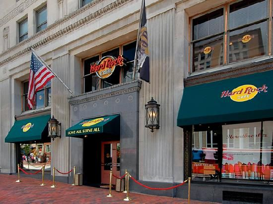 Hard Rock Cafe New Orleans Menu Prices
