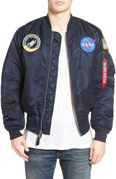 ALPHA INDUSTRIES Nasa Ma-1 Flight Jacket. #alphaindustries #cloth ...
