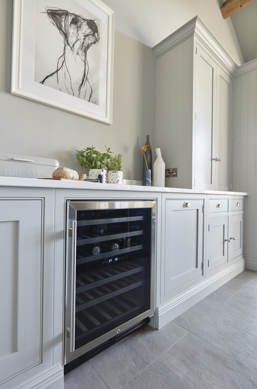 Blue Fitted Kitchen in 2020 Kitchen plans, Kitchen