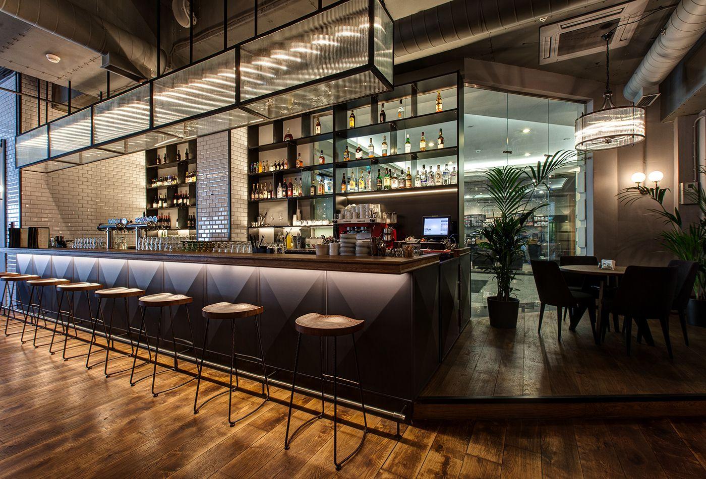 AWMA COLLAGE on Behance Restaurant InteriorsRestaurant