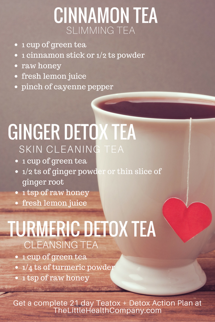 For Glowing Skin Healthy Body Awesome Detox Tea Recipes