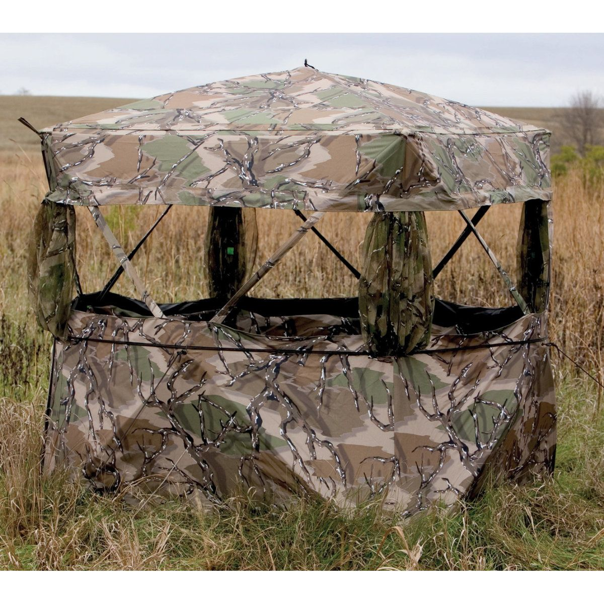 mountain youtube barronett gander blind look hunting pentagon from blinds watch first