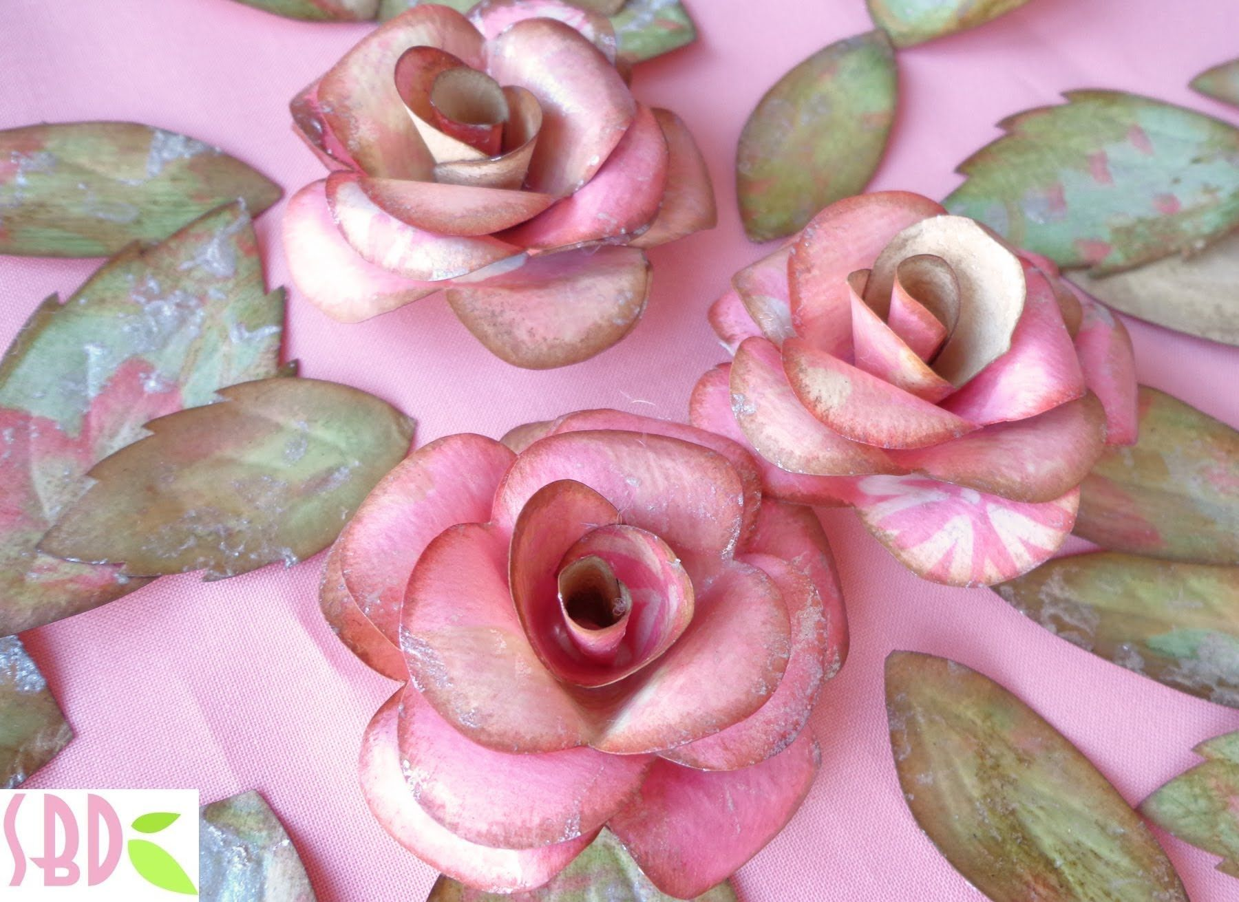 Rose E Farfalle Di Carta Paper Roses And Butterflies Eng Subs