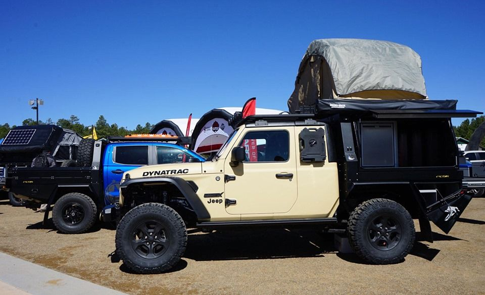 Off Roading Must Be Fun In The Hellcat Powered Dynatrac Codex Jeep Gladiator Jeep Gladiator Jeep Hellcat Engine