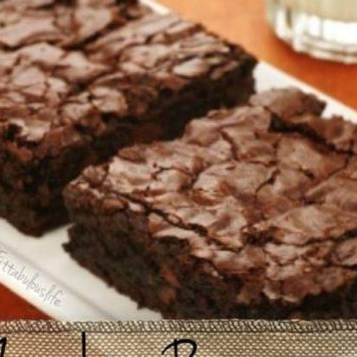 zucchini brownies - weight watchers | recette