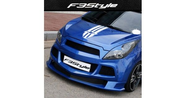 Aero Parts F3s Chevrolet Spark Front Side Body Kit In 2020 Chevrolet Spark Body Kit Chevrolet Spark 2011