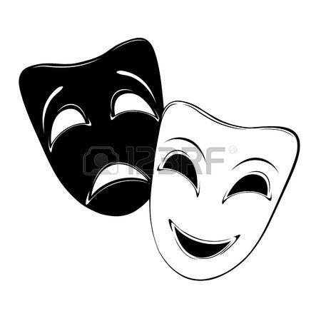 8 Ideas De Caras De Teatro Mascaras Teatro Teatro Dibujos De Teatro