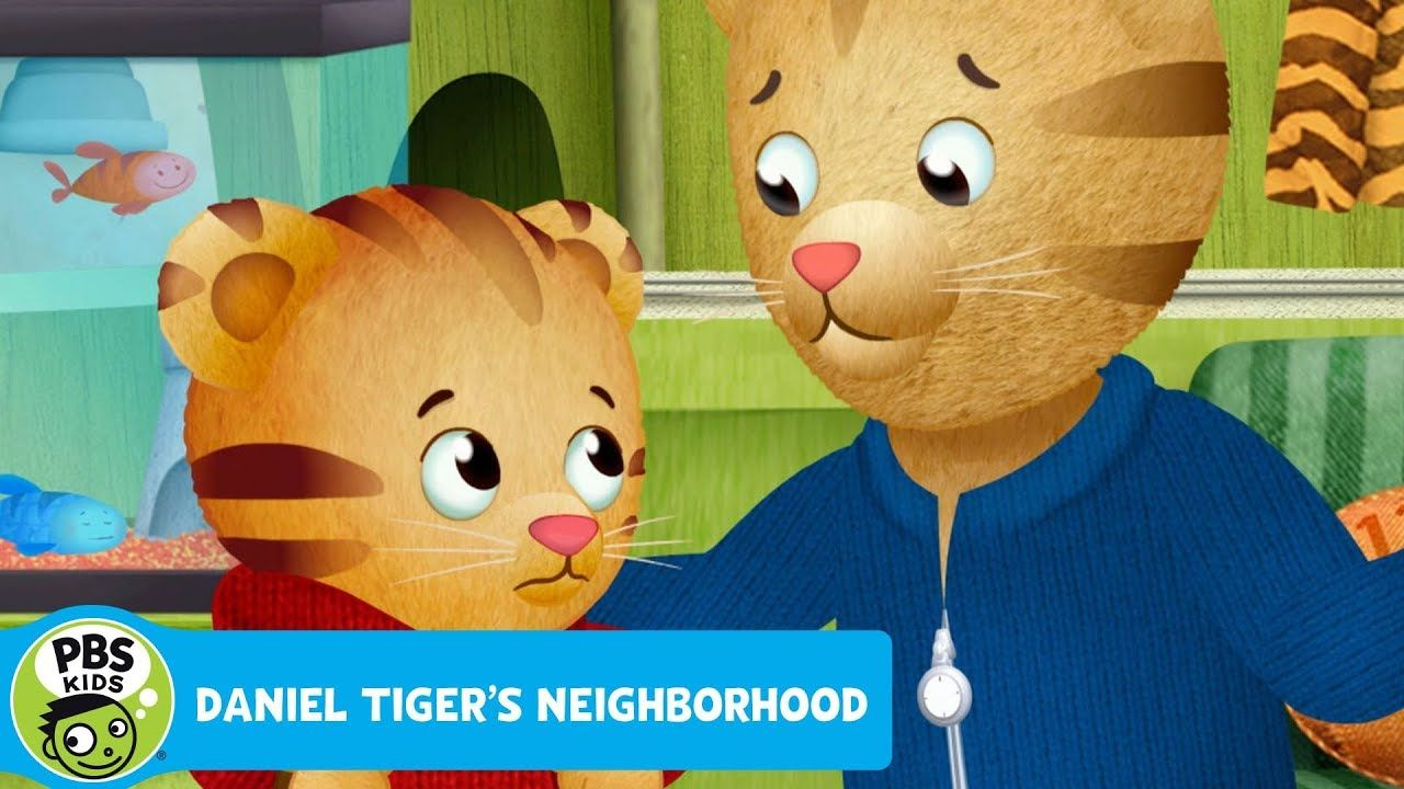 DANIEL TIGER'S NEIGHBORHOOD Blue Fish is Dead PBS KIDS