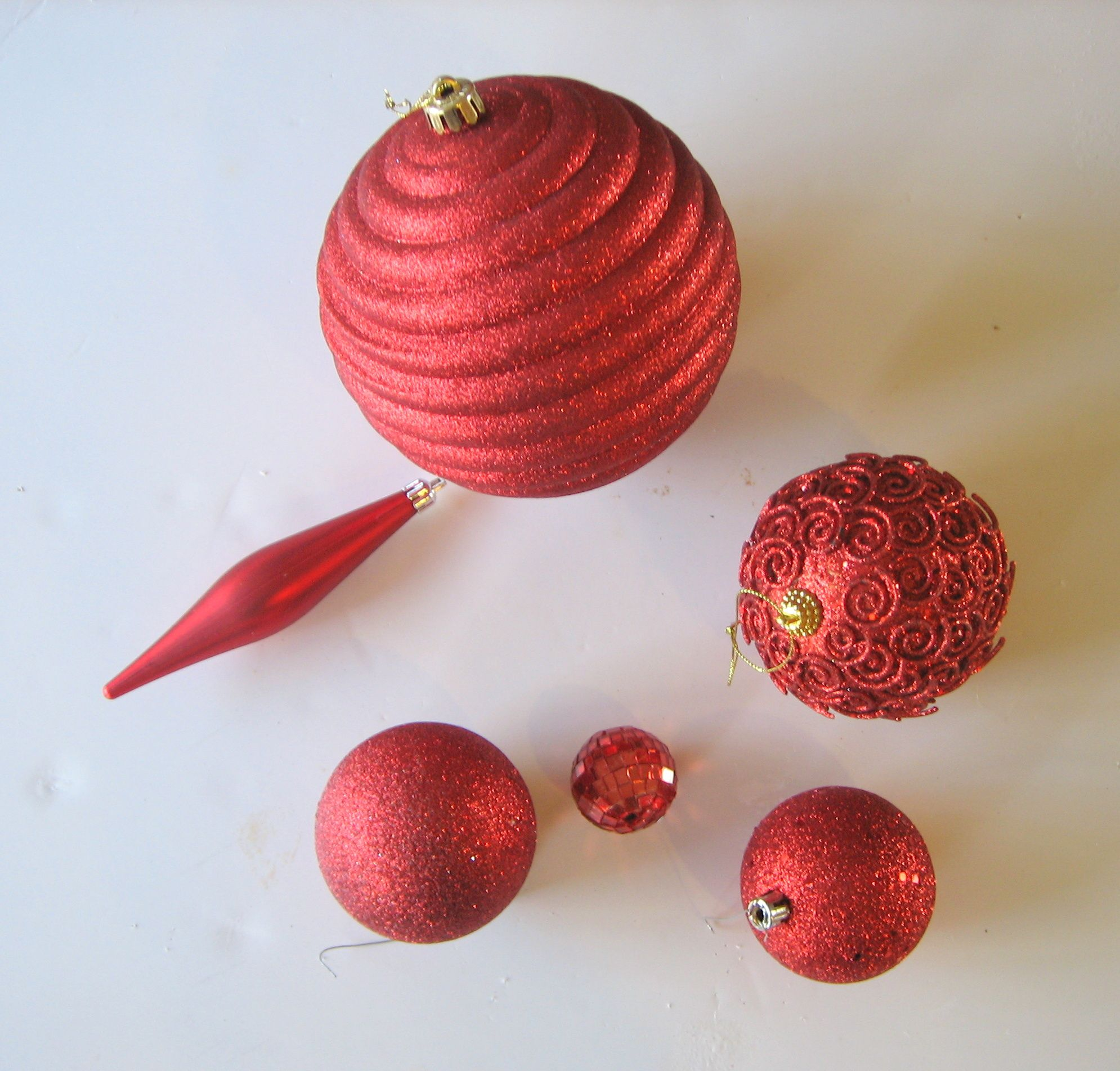 Make A Long Stacked Ornament
