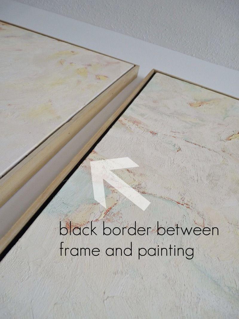 DIY Frame for artwork | pintura | Pinterest | Marcos para cuadros ...