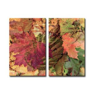 Ready2HangArt 'Fall Ink XXV' Canvas Wall Art - 17741132 - Overstock.com Shopping - The Best Prices on Ready2HangArt Gallery Wrapped Canvas