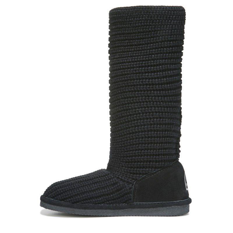 Bearpaw Women/'s Knit Tall Snow Boot Gray
