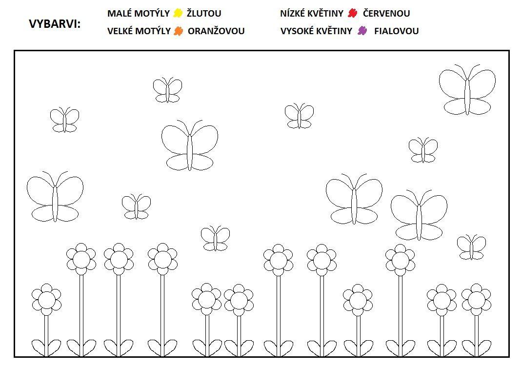 Cvičíme pojmy MALÝ/VELKÝ, NÍZKÝ/VYSOKÝ. Z webu žabičky.cz. | Math, School  humor, Worksheets
