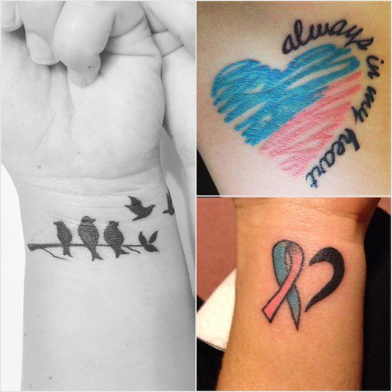 Tattoo Ideas To Honor Dad: Miscarriage Tattoo Ideas In