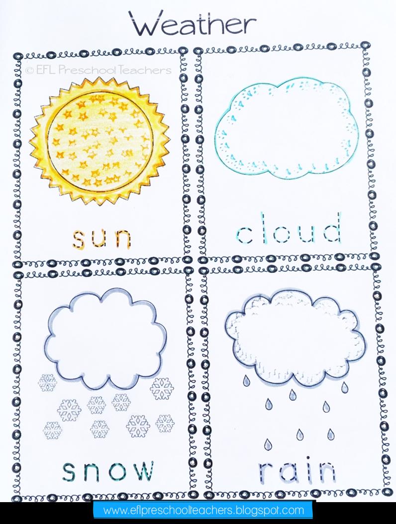 Weather Activities For Kindergarten Efl Weather Worksheets Weather Activities Weather Blog [ 1054 x 796 Pixel ]