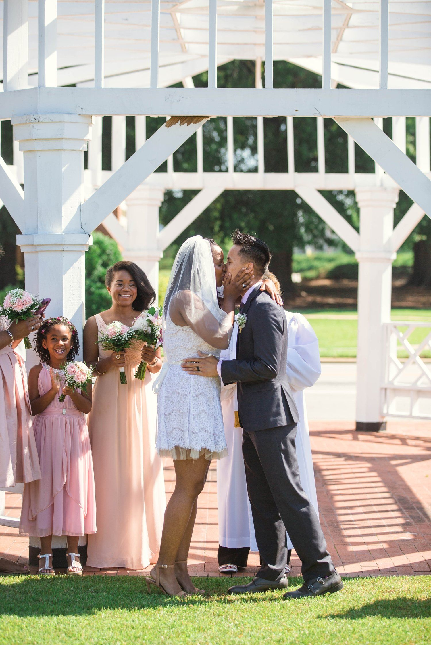 Photo of Jasmine + Michael – Elopement at the FTCC Rose Garden in Fayetteville North Carolina | Elopement, Engagement + Family Photographers in Oahu, Hawaii | Johanna Dye Photography