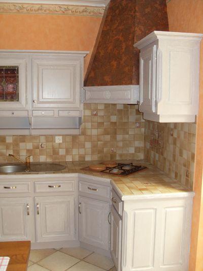 renovation de cuisine - votre ancienne cuisine métamorphosée en - Repeindre Une Cuisine En Chene Vernis