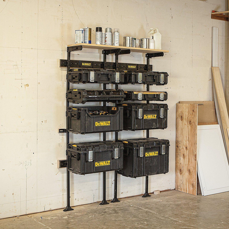 Dewalt Dwst08260 Tough System Workshop Racking System Amazon Ca