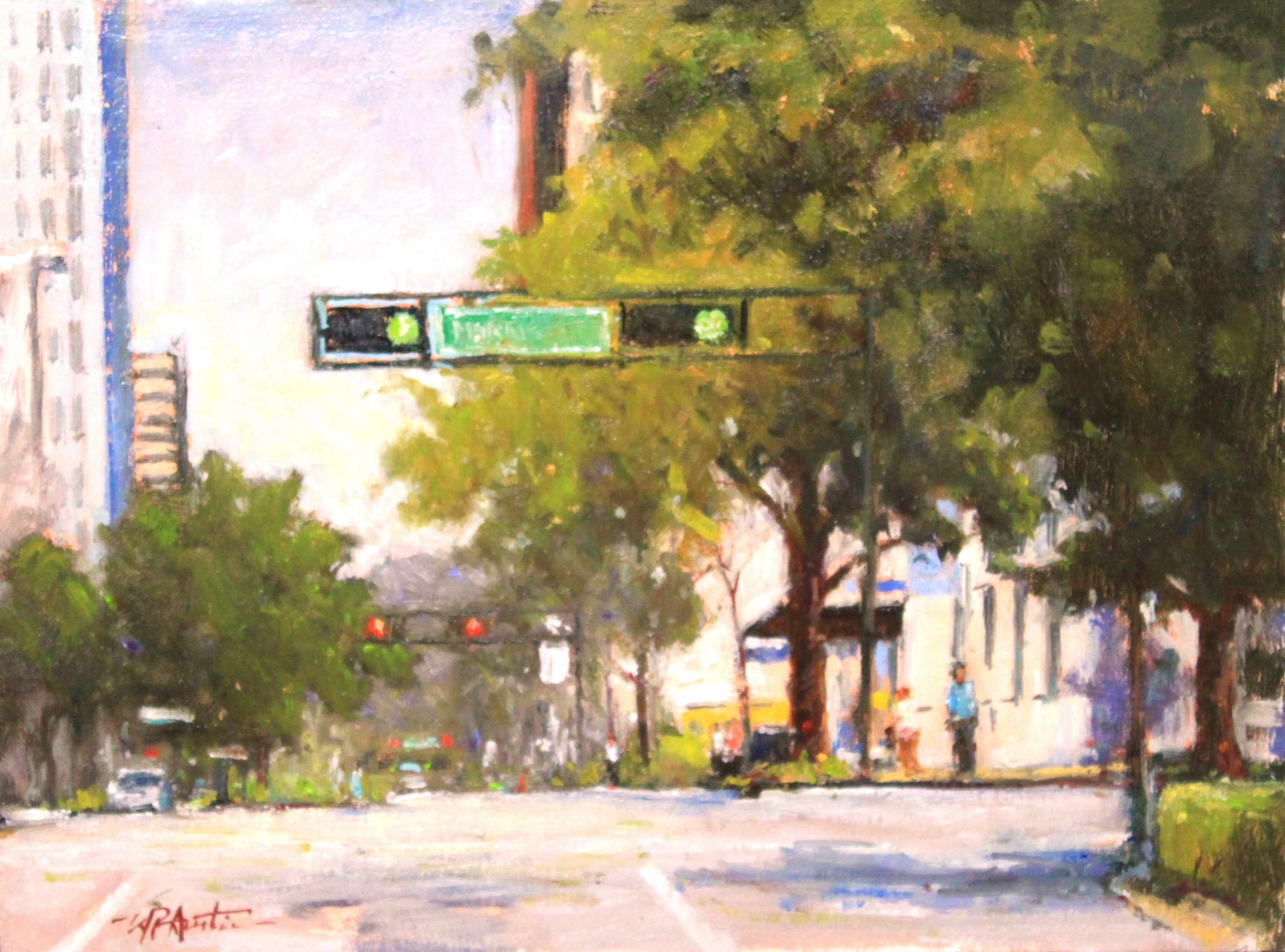 Morris avenue by perry austin art painting landscape