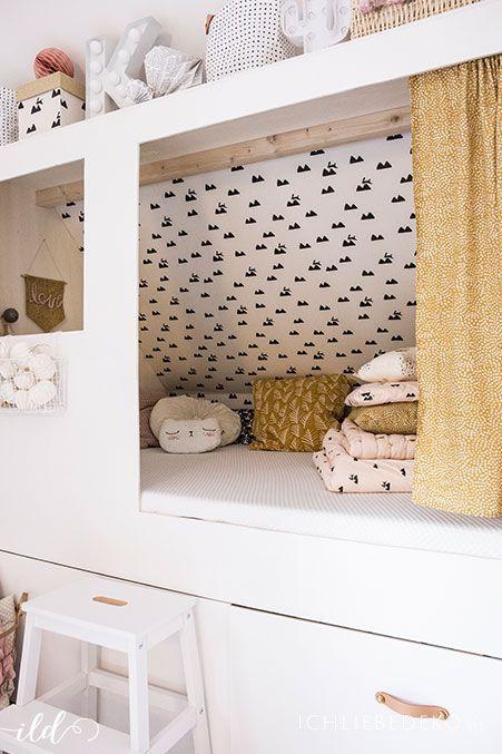 Diy Kojenbett Fürs Kinderzimmer Kinderzimmer Kids Furniture