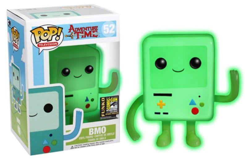 Adventure Time Pop Vinyl Figure Bmo Gitd Sdcc Exclusive 10 Cm Juguetes Pop Munecos Pop Adventure Time