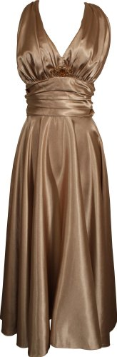 Marilyn Satin Halter Bridesmaid Dress Junior Plus Size Holiday Prom Gown, XS, Gold PacificPlex,http://www.amazon.com/dp/B0014A2USU/ref=cm_sw_r_pi_dp_gq3fsb107DN1KH5A
