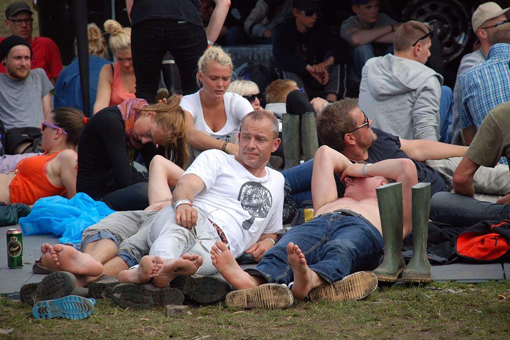 Roskilde Festival 2011: Crowd (Photo: Simon Drost)