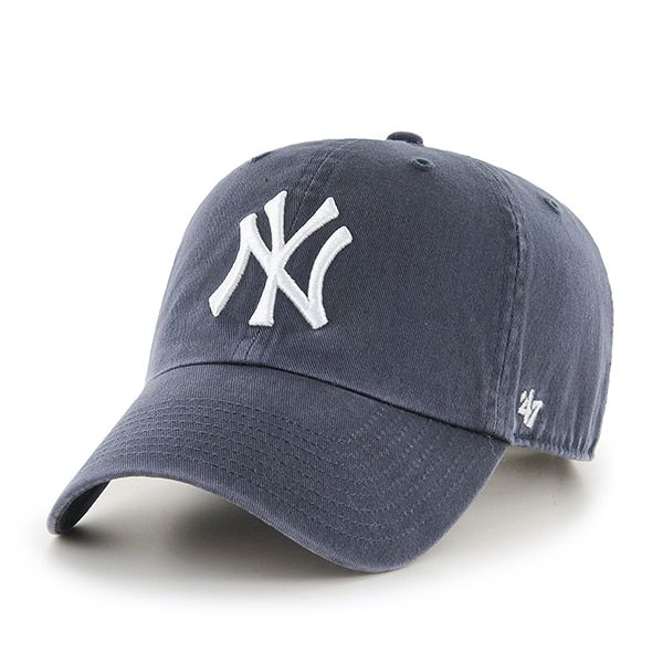 92ce15a3f380b New York Yankees 47 Brand Vintage Navy Clean Up Adjustable Hat in ...