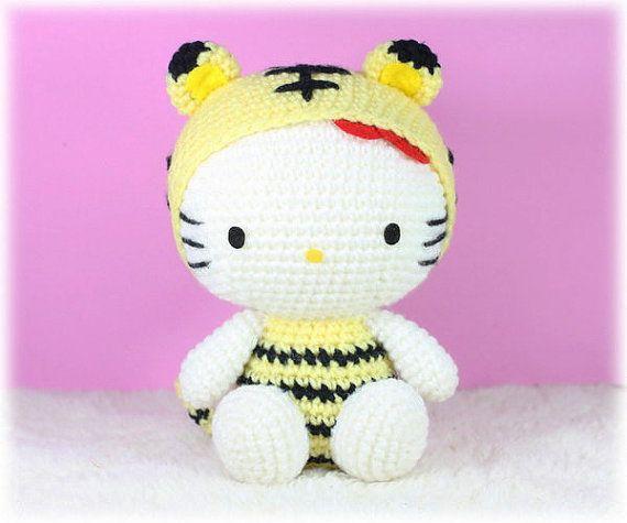 Crochet Hello Kitty In Dress Amigurumi Free Patterns - Toy Plush ... | 475x570