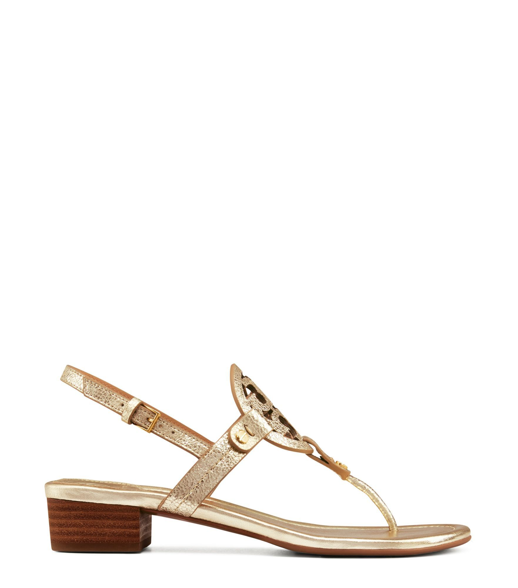 Visit Tory Burch to shop for Miller Low-heel Sandal, Metallic Leather and  more Womens Sandals. Find designer shoes, handbags, clothing & more of this  ...