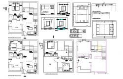 Interior design Extensive Cad files of drawing room, pray room ...