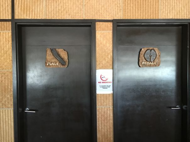 100 Of The Most Creative Bathroom Signs Ever Bathroom Signs