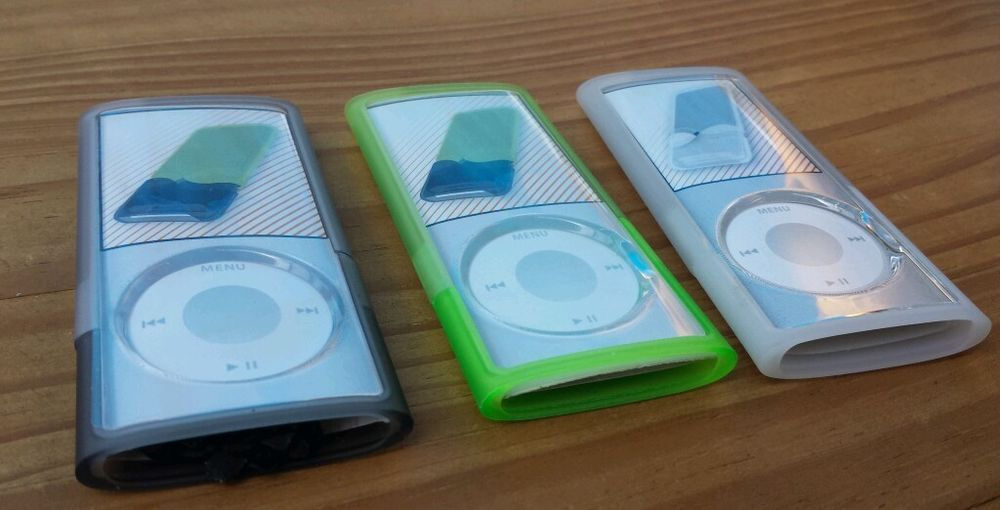 Griffin Wave Case interlocking cases for Ipod NANO 4th