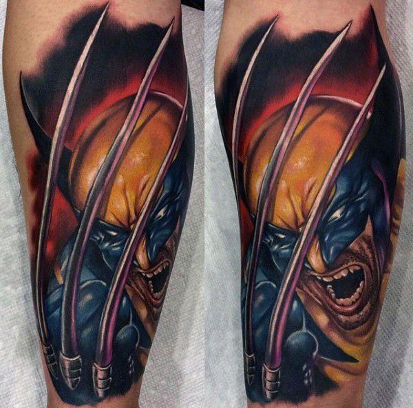 90 Wolverine Tattoo Designs For Men X Men Ink Ideas Tattoos For