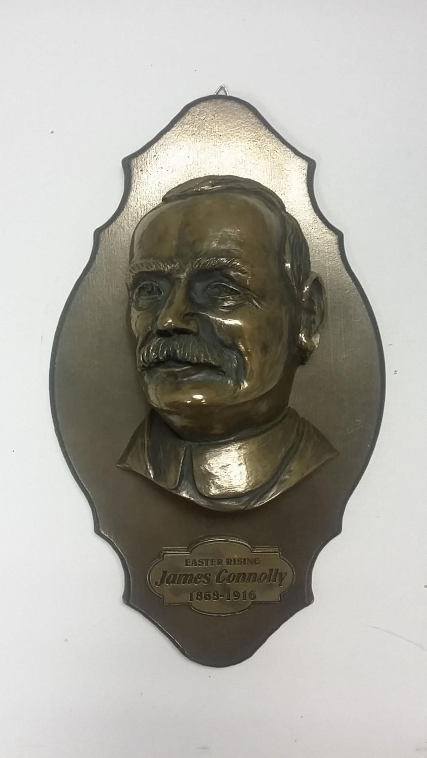 James connolly 1916 easter rising centenary commemoration plaque james connolly 1916 easter rising centenary commemoration plaque bronze finished plaque that is handmade in ireland negle Image collections