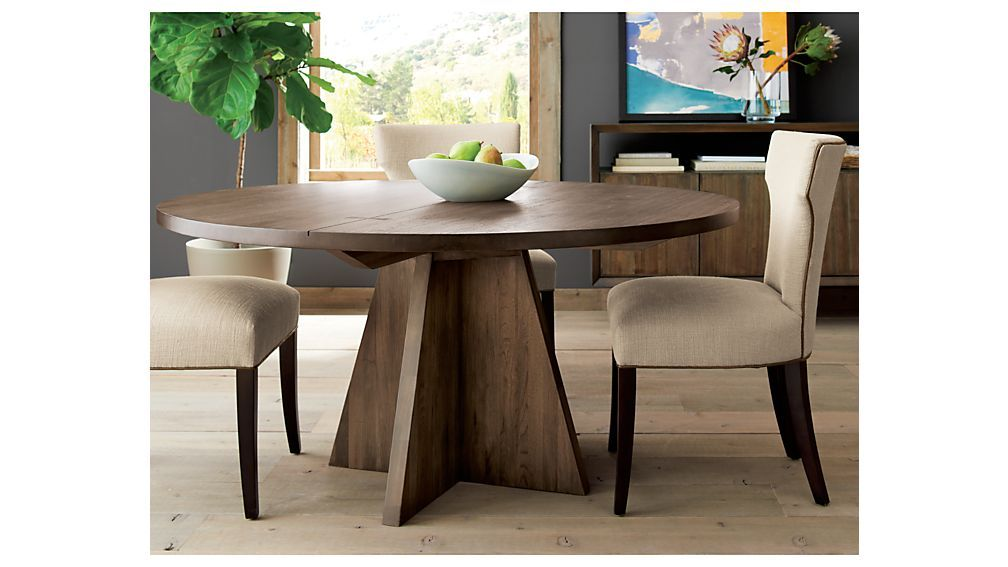 Monarch 60 Solid Walnut Round Dining Table Reviews Crate And