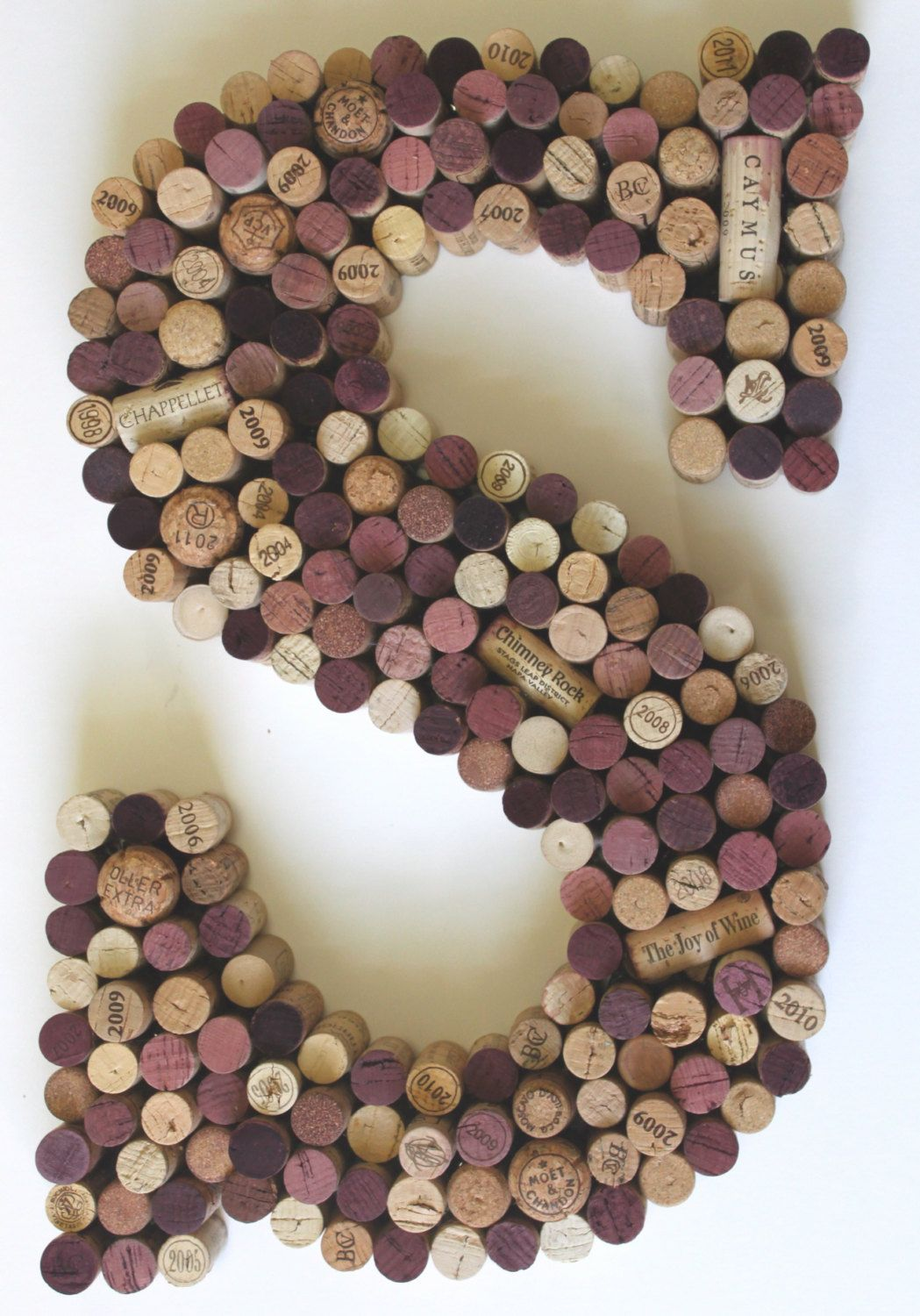 Wine Cork Wall Art letter s wine cork wall art. monogram wine corkanneliseday