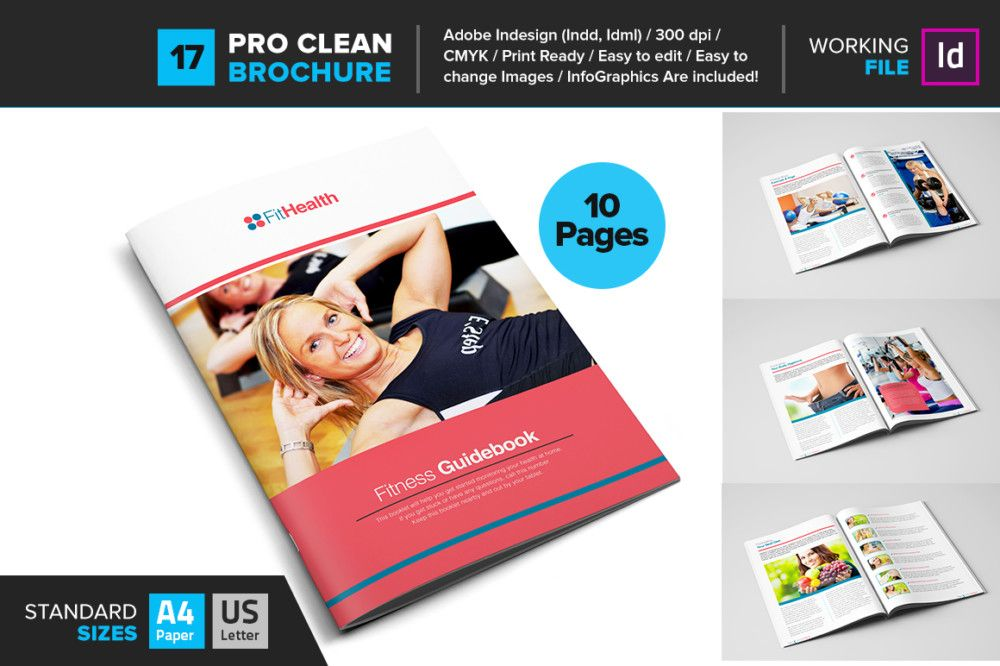 indesign-fitness-brochure-template 15+ Fitness Brochure Template - Fitness Brochure