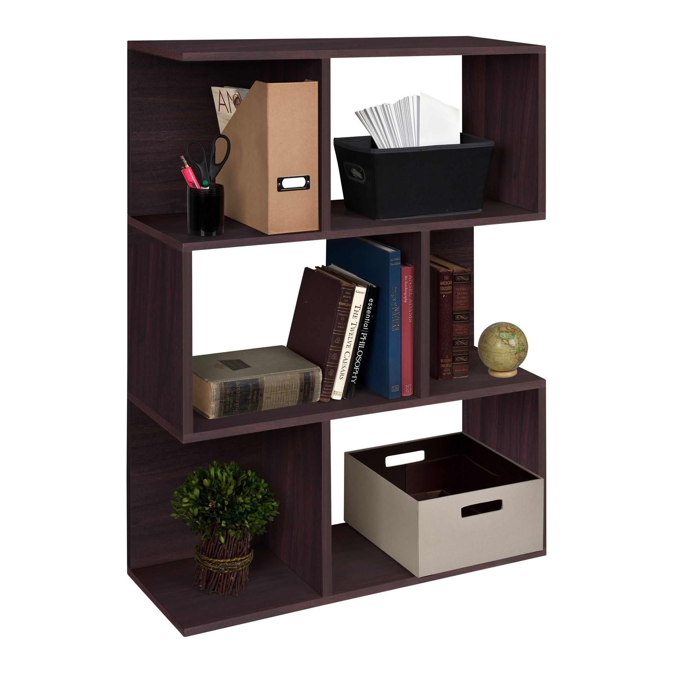 Way Basics Eco Madison Bookcase In Espresso