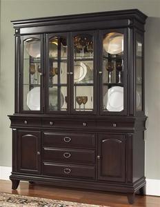 Kendall China Cabinet In Dark Cherry