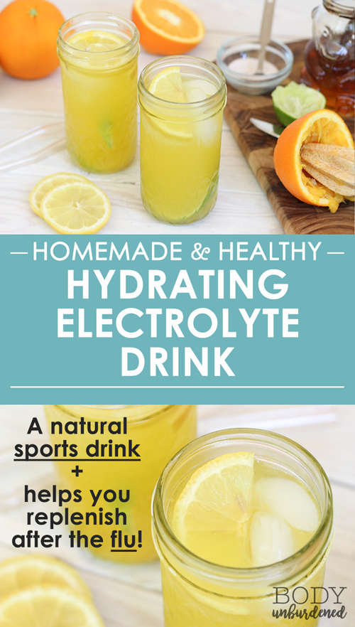 Homemade Healthy Hydrating Electrolyte Drink Detox Drinks Flat Tummy Homemade Electrolyte Drink Electrolyte Drink Recipe