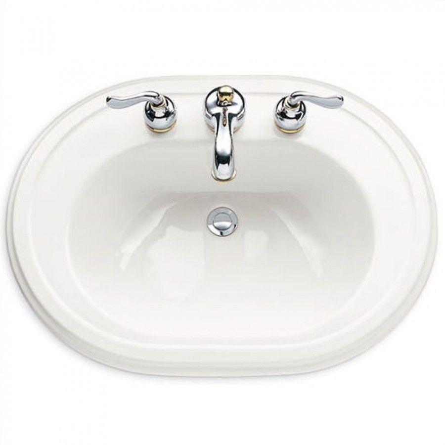 American Standard Heritage Countertop Sink with 8\