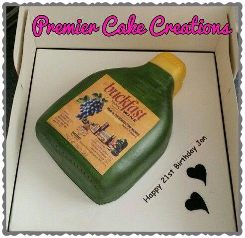 Buckfast Bottle Cake