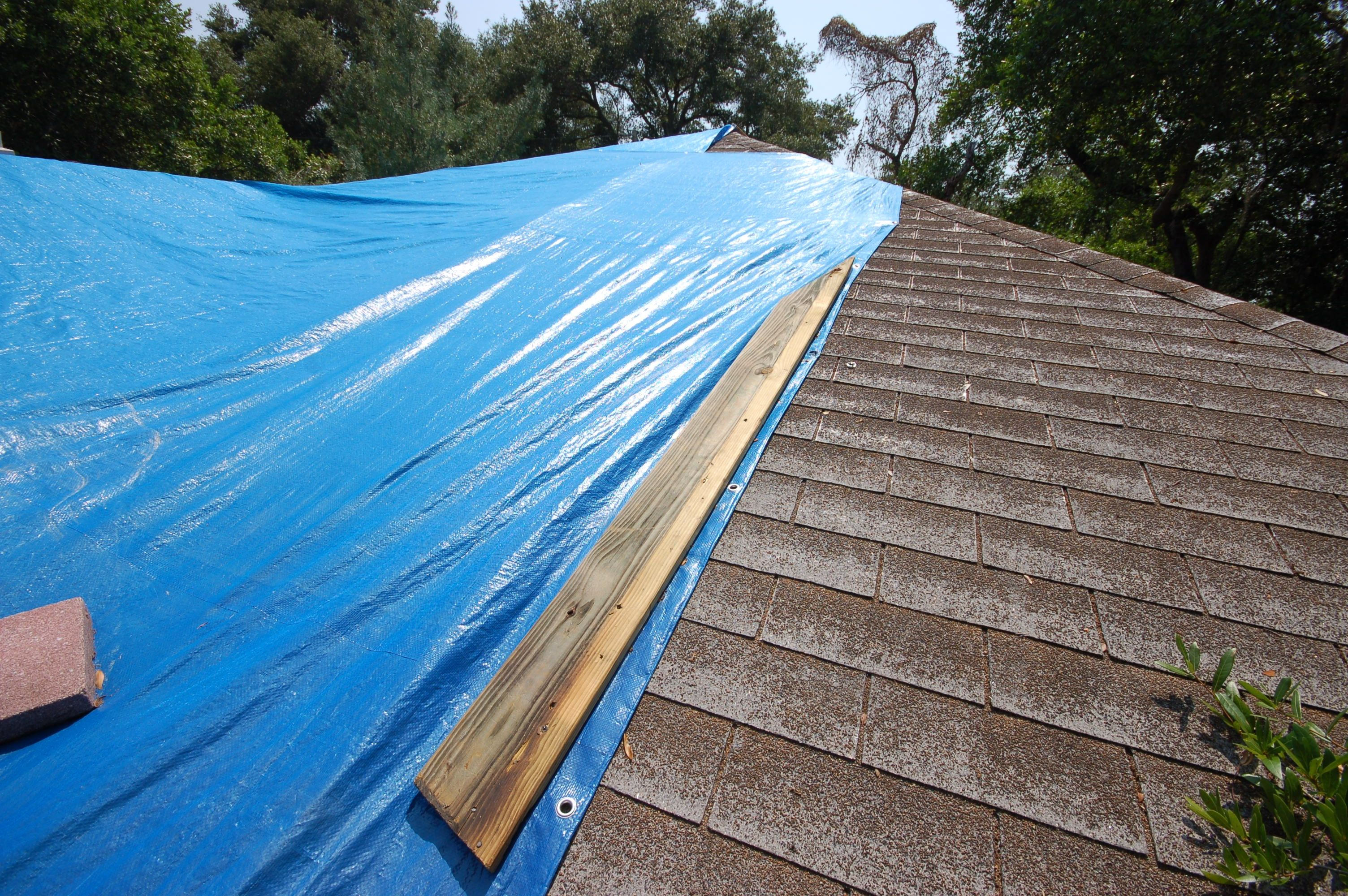 Roof Tarp Roofing Services Roofing Emergency