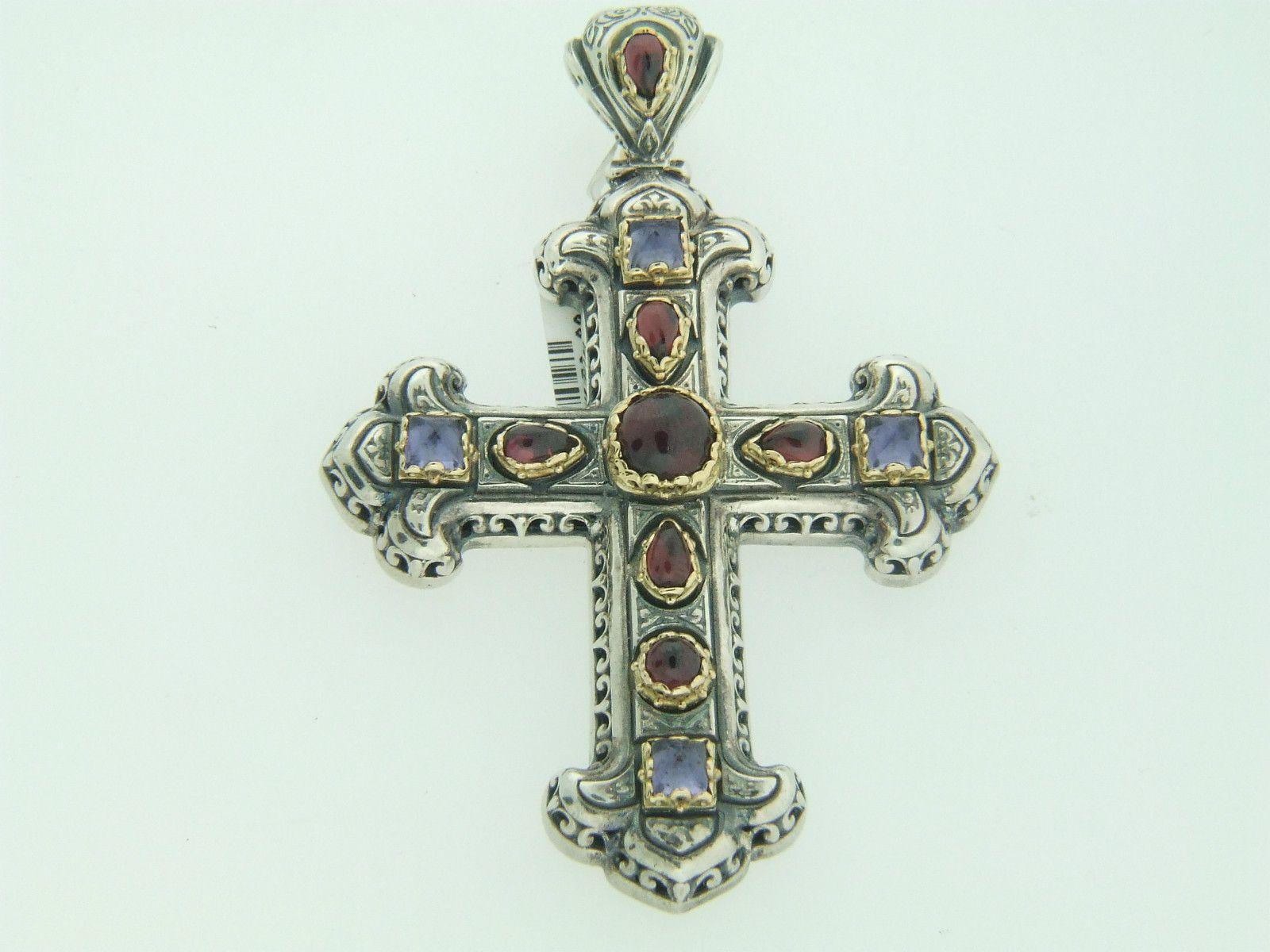 Konstantino Large Jeweled Cross Pendant - Google Search