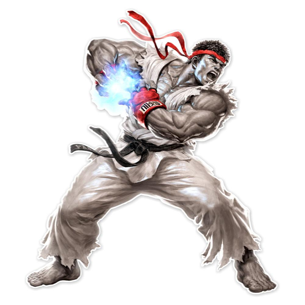 Street Fighter Ryu Augmented Reality Wall Decal Ryu Street