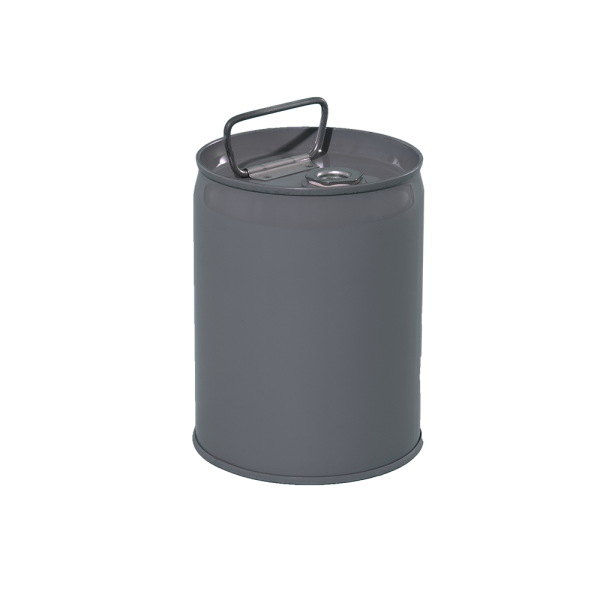 1 Gallon Grey 24 Gauge Metal Tight Head Pail W Rust Inhibitor Lining Plastic Pail Pail Metal Containers
